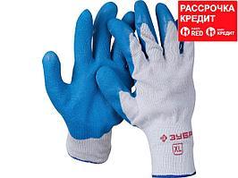 ЗУБР СУПЕРПРОЧНЫЕ, размер XL, рельефные особопрочные противоскользящие перчатки (11260-XL)