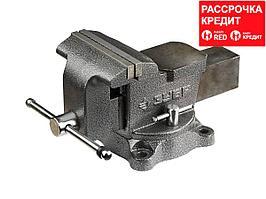 ЗУБР МАСТЕР, 150 мм, тиски слесарные (3258)