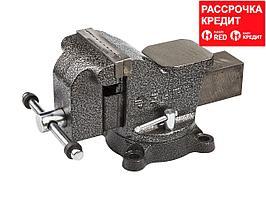 ЗУБР МАСТЕР, 100 мм, тиски слесарные (3258-100)