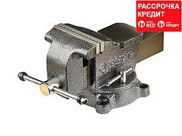 ЗУБР МАСТЕР, 125 мм, тиски слесарные (3258-125)