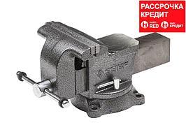ЗУБР МАСТЕР, 200 мм, тиски слесарные (3258-200)