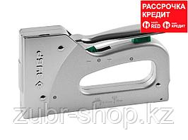 """Степлер для скоб """"T-140"""" 3-в-1: тип 140 (6-16 мм) / 300 (16 мм) / 500 (16 мм), ЗУБР Профессионал (4-31573)"""
