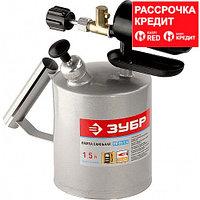 ЗУБР. Лампа паяльная, стальная, 2,0 л (40650-2.0)