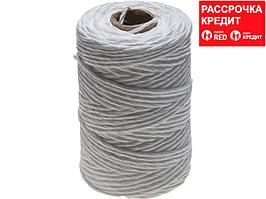 Шпагат ЗУБР полипропиленовый, d=2,0 мм, 100 м, белый, 35 кгс, 1,6 ктекс (50100-100)