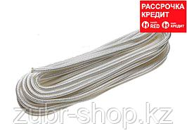 Фал ЗУБР капроновый, d=8,0 мм, 20 м, 1100 кгс, 35 ктекс (50210-08)
