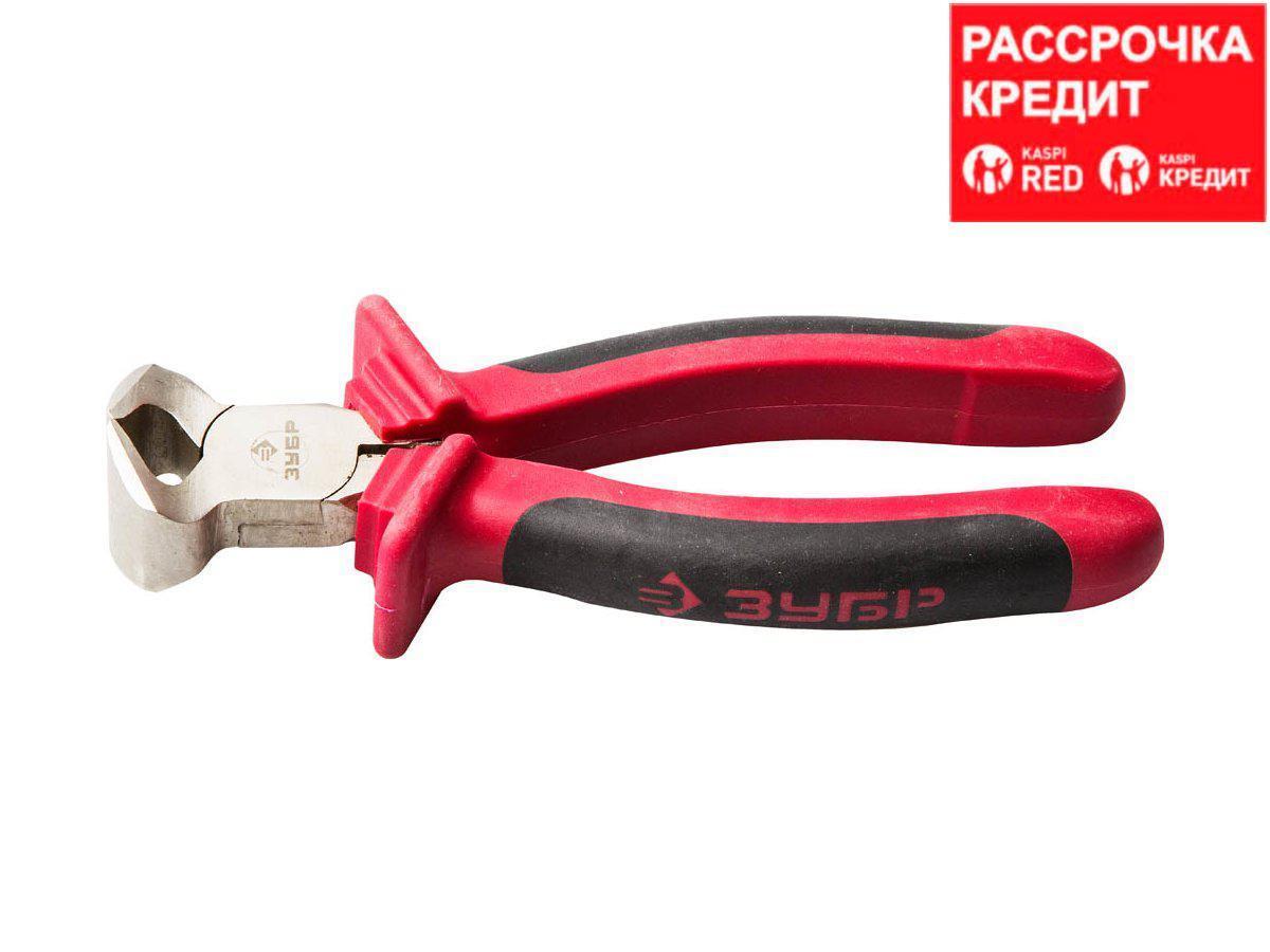 Кусачки торцовые ЗУБР 22025-7-15, МАСТЕР хромированные, 150 мм