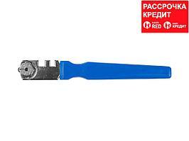 """Стеклорез STAYER """"PROFI"""" роликовый, 6 режущих элементов, с пластмассовой ручкой (3364_z01)"""