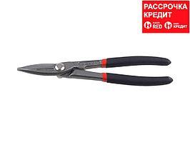 ЗУБР Прямые 210 мм ножницы по металлу, длина режущей кромки 45 мм (23015-20)
