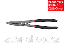 ЗУБР Прямые 250 мм ножницы по металлу, длина режущей кромки 55 мм (23015-25_z01)