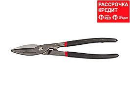 ЗУБР Прямые 320 мм ножницы по металлу, длина режущей кромки 65 мм (23015-32_z01)