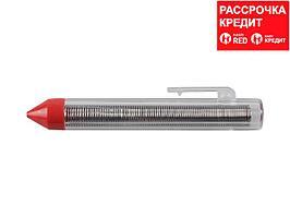 Припой ЗУБР оловянно-свинцовый, 60% Sn / 40% Pb, 25гр (55420-025)