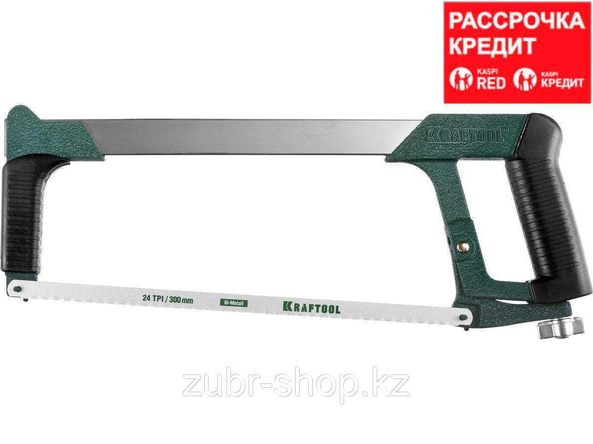 Super-Kraft ножовка по металлу, 185 кгс, KRAFTOOL (15801_z01)