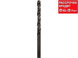 Сверло по металлу ЗУБР 4-29605-093-6, парооксидированное, быстрорежущая сталь, 6х93мм