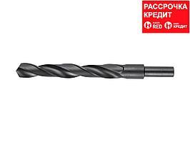 ЗУБР ТЕХНИК 17.5х191мм, Сверло по металлу, проточенный хвотосвик, сталь Р4М2, класс В (4-29605-191-17.5)