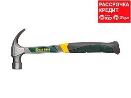KRAFTOOL THOR 560 г молоток-гвоздодёр цельнокованый столярный (20270)