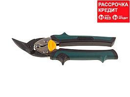 KRAFTOOL COMPACT Левые усиленные с выносом ножницы по металлу, 190 мм (2326-L)