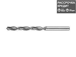 ЗУБР 5.7х93мм, Сверло по металлу, сталь Р6М5, класс В (4-29621-093-5.7)