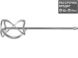 Насадка, ЗУБР ЗМРН-1-120-02, перемешивание снизу-вверх, М14, d=120 мм, L=590 мм (ЗМРН-1-120-02_z01)