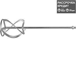 Насадка, ЗУБР ЗМРН-1-140-02, перемешивание снизу-вверх, М14, d=140 мм, L=590 мм (ЗМРН-1-140-02_z01)