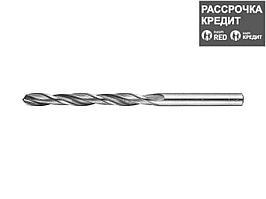 ЗУБР 5.9х93мм, Сверло по металлу, сталь Р6М5, класс В (4-29621-093-5.9)