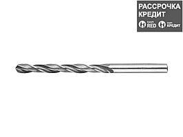 ЗУБР 6.3х101мм, Сверло по металлу, сталь Р6М5, класс В (4-29621-101-6.3)