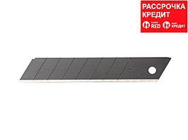 Лезвие OLFA BLACK MAX сегментированное, 18х100х0,5мм, 10шт (OL-LBB-10B)