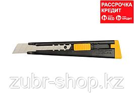 Нож OLFA металлический с выдвижным лезвием, автофиксатор, 18мм (OL-ML)