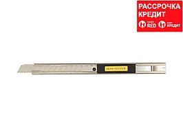 Нож OLFA с выдвижным лезвием и корпусом из нержавеющей стали, 9мм (OL-SVR-1)