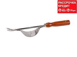 Корнеудалитель GRINDA из нержавеющей стали с деревянной ручкой, 330 мм (8-421146_z01)