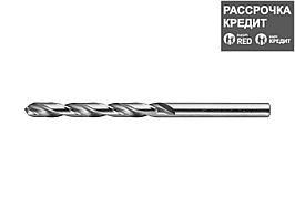 ЗУБР 5.8х93мм, Сверло по металлу, сталь Р6М5, класс А (4-29625-093-5.8)