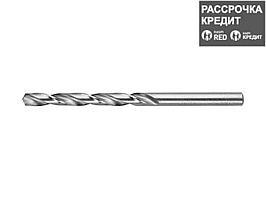 ЗУБР 6.3х101мм, Сверло по металлу, сталь Р6М5, класс А (4-29625-101-6.3)