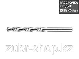 ЗУБР 6.7х101мм, Сверло по металлу, сталь Р6М5, класс А (4-29625-101-6.7)