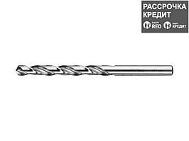 ЗУБР 6.8х109мм, Сверло по металлу, сталь Р6М5, класс А (4-29625-109-6.8)