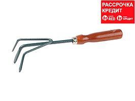 Рыхлитель GRINDA, из углеродистой стали с деревянной ручкой, 280 мм (8-421243_z01)