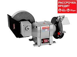 ЗУБР заточной станок для мокрого и сухого шлифования, d150 / d200 мм, 350 Вт (ЗТШМ-150/200У_z01)