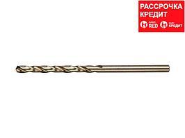 ЗУБР КОБАЛЬТ 3.3х65мм, Сверло по металлу, сталь Р6М5, класс А (4-29626-065-3.3)