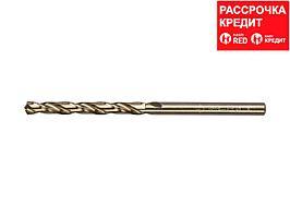 Сверло по металлу ЗУБР 4-29626-075-4, цилиндрический хвостовик, быстрорежущая сталь Р6М5К5, класс точн. А1,