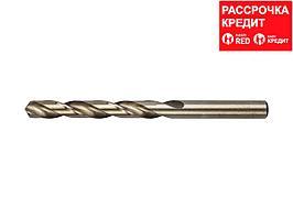 ЗУБР КОБАЛЬТ 10.5х133мм, Сверло по металлу, сталь Р6М5, класс А (4-29626-133-10.5)