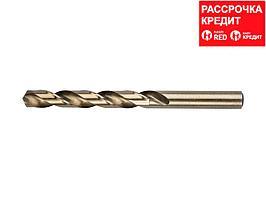 ЗУБР КОБАЛЬТ 12.5х151мм, Сверло по металлу, сталь Р6М5, класс А (4-29626-151-12.5)
