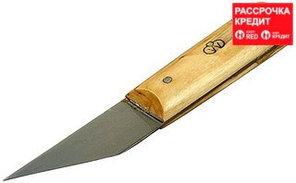 Нож сапожный с деревянной ручкой, 29х75/175мм