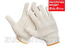 STAYER STANDARD, размер L-XL, перчатки рабочие для тяжелых работ без покрытия, х/б 7 класс (11402-XL)