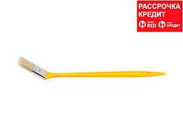 """Кисть радиаторная STAYER """"UNIVERSAL-MASTER"""", светлая натуральная щетина, пластмассовая ручка, 50мм"""