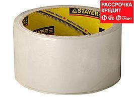 Клейкая лента, STAYER Max Tape 1204-50, прозрачная, 48мм х 60м (1204-50)