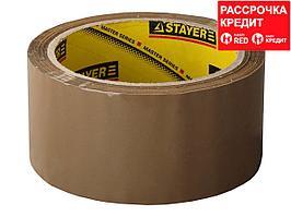 Клейкая лента, STAYER Master 1207-50, коричневая, 48мм х 60м (1207-50)
