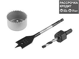 ЗУБР 48 мм, набор для врезки замков (2954-48-H3_z01)