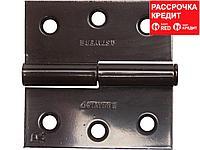 "Петля дверная STAYER ""MASTER"" разъемная, цвет коричневый, правая, 75мм (37613-75-3R)"