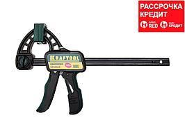 """Струбцина """"EcoKraft"""" ручная пистолетная, KRAFTOOL 32226-15, пластиковый корпус, 150/350мм, 150кгс (32226-15)"""