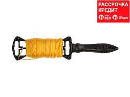 Шнур для строительного отвеса STAYER для строительных работ, на катушке, 50м, 2-06411-050