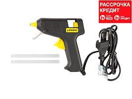 Пистолет STAYER клеевой (термоклеящий) электрический, 10Вт/220В, 7мм (2-06801-10-07_z01)