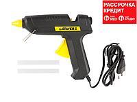 Пистолет STAYER клеевой (термоклеящий) электрический, 60Вт/220В, 11мм (2-06801-60-11_z01)
